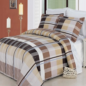 Arlington King/California King 4 Piece 300 Thread Count Egyptian Cotton Comforter Set