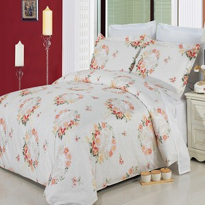 3 Piece Liza Full/Queen 300 Thread Count Egyptian Cotton Duvet Cover Set