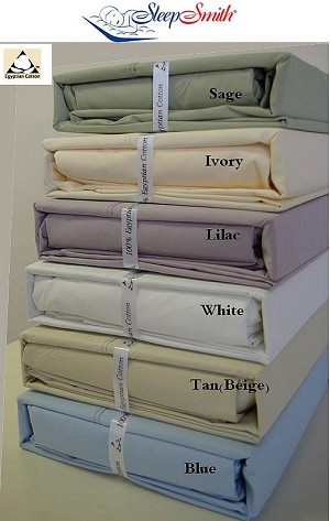 King Size 300 Thread Count Egyptian Cotton Percale Sheets