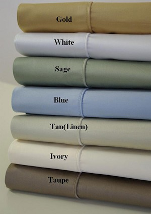 Twin Xl Size 450 Thread Count Egyptian Cotton Sheets