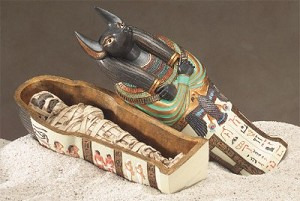 Anubis Coffin W/Mummy