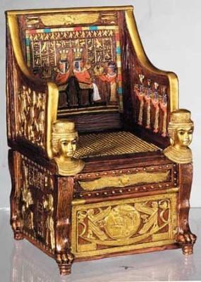 Throne Of Sitamun Trinket Box