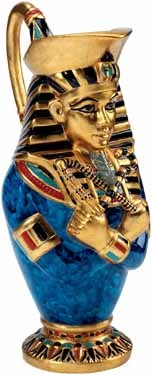 Pharaoh Vase (Gold Leaf)