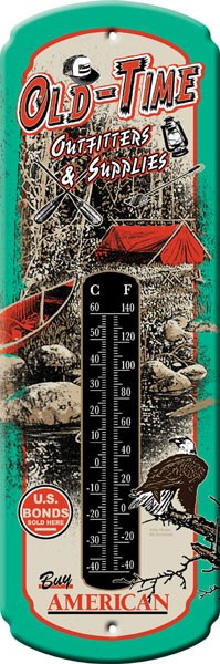 Old-Timer Outfitter Decorative Outdoor Thermometer