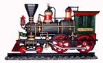 Locomotive 3 D wall art