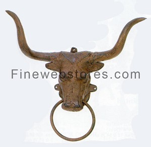 Bull Head Towel Rack