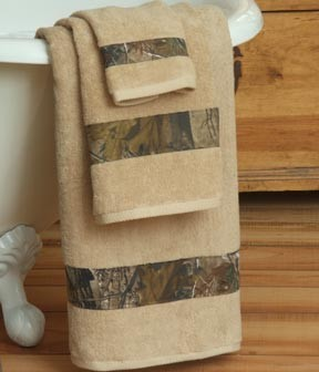 Camouflage 6 Piece Towel Set All Purpose APHD