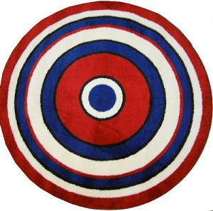 Concentric 2 Rug 51in. Round