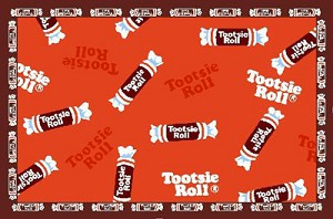 Tootsie Roll Candy Rug 19 in. x 29 in.