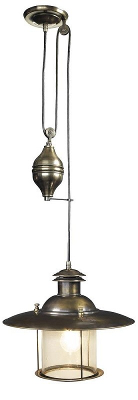 French Lantern Electric Lamp Hanging Ceiling Lamp Nautical Lighting