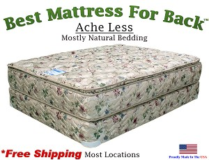 California King Ache Less™, Best Mattress For Back