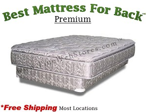 Expanded Queen Premium, Best Mattress For Back