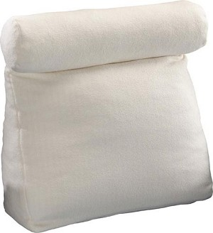 "Work In Bed Pillow White 19"" X 25"""