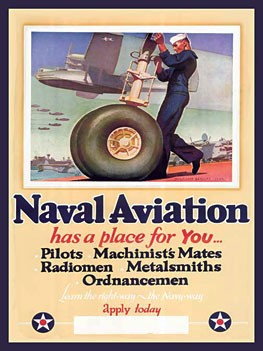 Naval Aviation Metal Sign