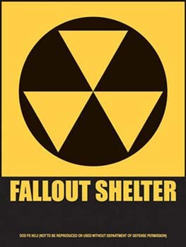 Fallout Shelter Tin Sign
