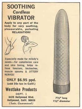Soothing Cordless Vibrator Vintage Tin Sign