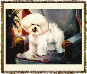 Bichon Frise Ruth Maystead © Tapestry