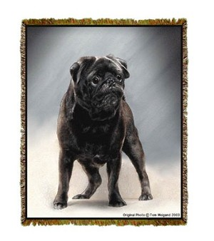 Black Pug Tom Weigand © Tapestry