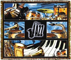 Music Jazz Tapestry
