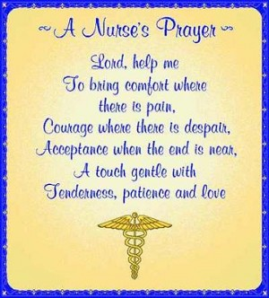 Nurses Prayer Tapestry