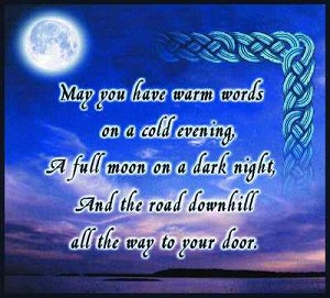 May You Have Warm Words Tapestry