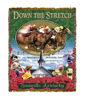 Down The Stretch Tapestry