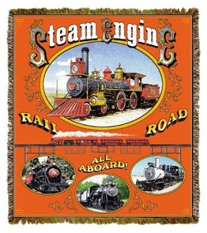 Steam Engine Tapestry