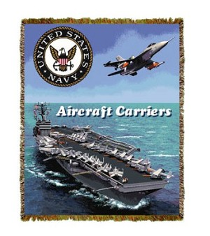 Aircraft Carrier Tapestry