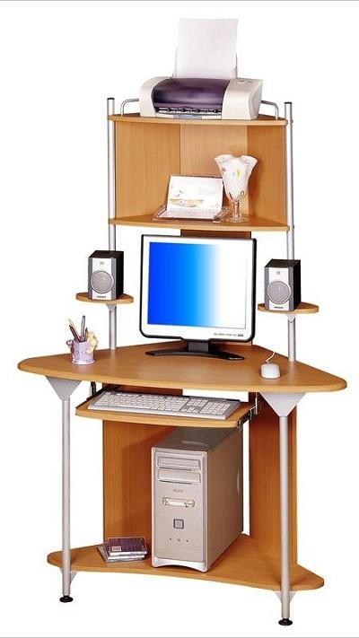 Wood Corner Computer Desks On Tall Cherry Multifunctional Desk