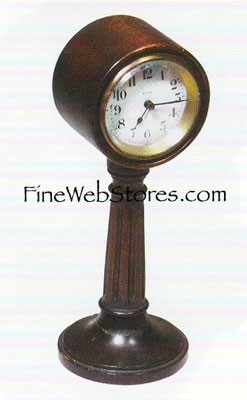 Mini Street Lamp Clock Antique Style