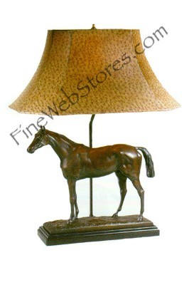 Thoroughbred Horse Lamp