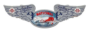 National Air Races Vintage Metal Sign