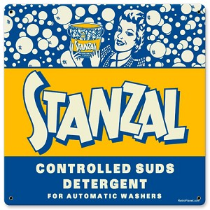 Stanzal Soap Vintage Metal Sign