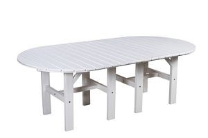 Polyresin Patio 84 In. Dining Table