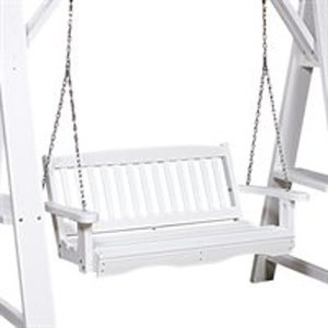 Polyresin Patio Mission Swing