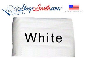 Luxury White Cot Size Sheet Sets 300 Thread Count