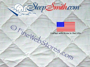 Three Quarter Size Quilted Extra Deep Pocket Mattress Pad