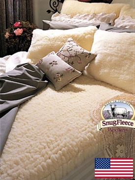 Original Twin Size Wool Mattress Topper