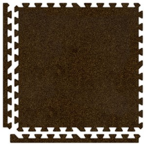 Brown Soft Carpet Floor Premium Tile Kit