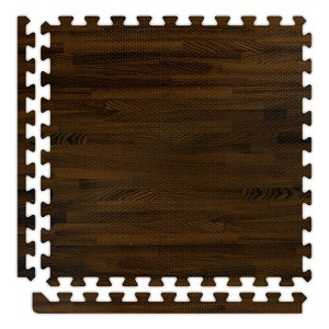 Walnut Soft Wood Floor Tile Kit