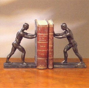 Classical Strong Man Bookends