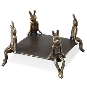 Bunny Square Candle Holder