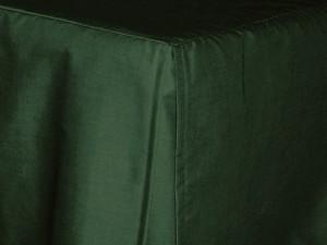 Queen Dark Forest Green Tailored Dustruffle Bedskirt