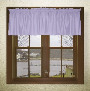 Lilac Purple Window Valances