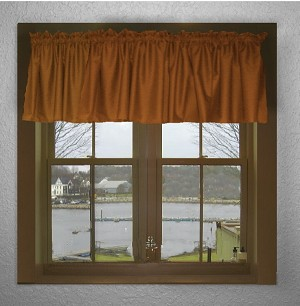 Rust Window Valances