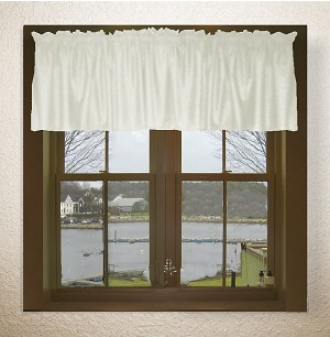 Soft White Window Valances
