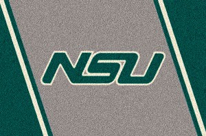 Norfolk State Spartans Team Logo Area Rug