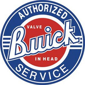 Buick Service Tin Sign