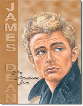James Dean - Icon Tin Sign