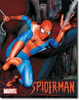 Spiderman Tin Sign